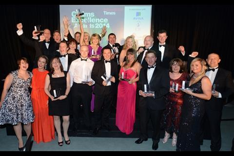 Claims Excellence Awards 2014